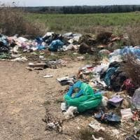 Lecce, l'area archeologica di Rudiae invasa dai rifiuti: per i turisti lo spettacolo è questo