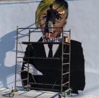"""Nadia Toffa, Taranto la ricorda con un murale: """"Colletta tra i ragazzi per realizzarlo"""""""