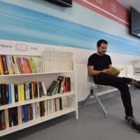 Biblioteca, musica in sottofondo e il triplo degli spazi: il nuovo pronto soccorso del Policlinico di Bari