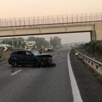Carabiniere ubriaco contromano sulla statale Lecce-Brindisi: un morto e 2 feriti