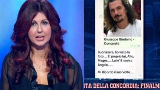 """""""E' Giuseppe l'angelo della Concordia"""": madre di 2 bimbi salvati dal naufragio riconosce il musicista-eroe"""