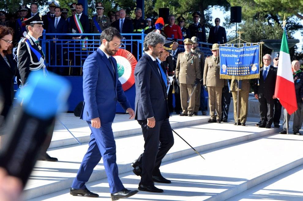 """Forze armate, Fico al Sacrario di Bari: """"Unità nazionale è valore fondamentale"""""""