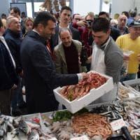 Bari, inaugurato il nuovo mercato di Via Amendola: 28 box per pesce e verdura  e parcheggio interrato