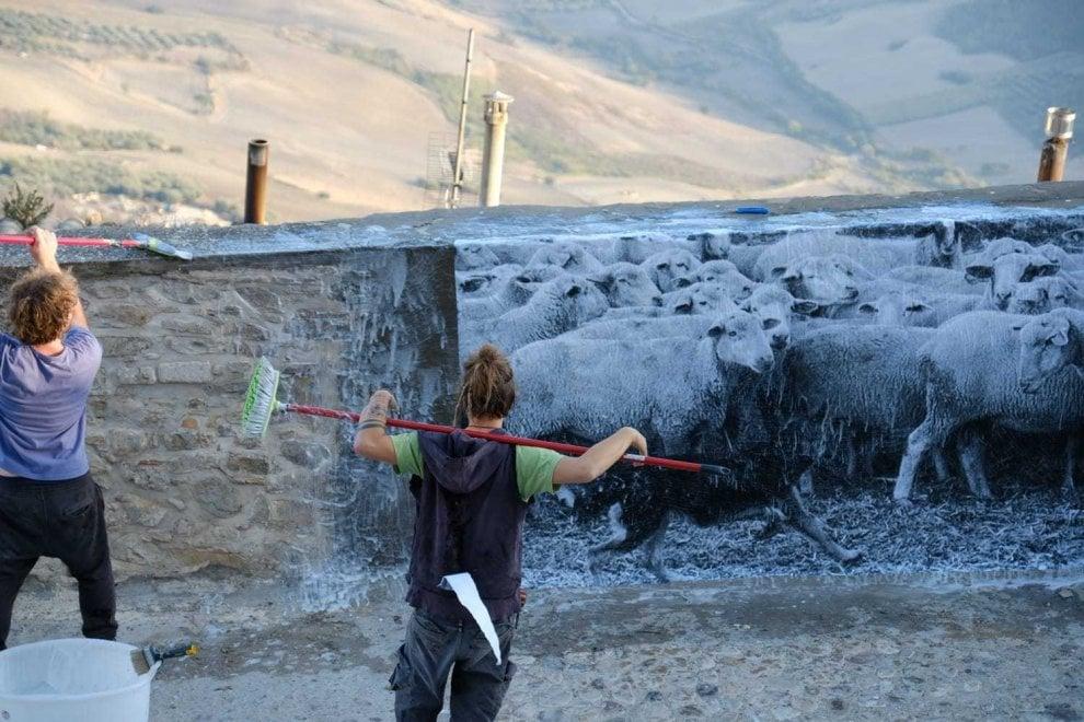 Foggia, street art e fotografia contro lo spopolamento dei borghi