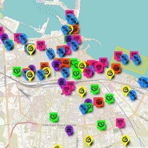Bari, ecco la mappa interattiva per l'inclusione sociale: l'idea vincente di sette ragazzi