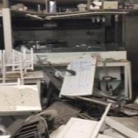 Foggia, bomba davanti a un ristorante nel centro storico: gravissimi danni,