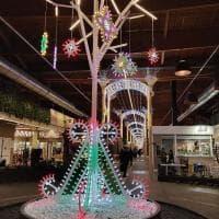 Le luminarie salentine a Bologna illuminano Fico Eataly world per Natale