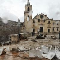 Maltempo, a Matera danni tra i Sassi e Pronto soccorso allagato