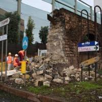 Maltempo, a Taranto crolla un pezzo dell'antico acquedotto romano