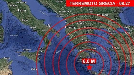 Terremoto, dopo l'Albania trema anche Creta: scossa di magnitudo 6 avvertita anche in Puglia