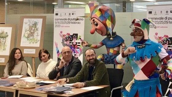 Putignano, il Carnevale 2020 sarà dedicato alla Terra: 5 sfilate sull'emergenza climatica