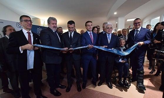 Sanità, a Bari inaugurato il nuovo ospedale della fondazione Maugeri. Struttura da 30 milioni per le riabilitazioni