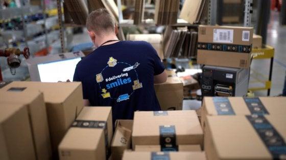 Amazon apre un deposito a Bitonto: 100 assunzioni, ecco i profili richiesti