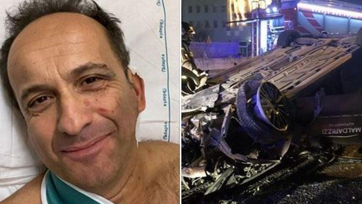 """Uccio De Santis in ospedale dopo l'incidente di Capodanno: """"Ringrazio il Signore se sono vivo"""""""