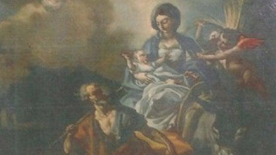Dipinto rubato in una chiesa del Salento trovato dai carabinieri a Napoli e restituito 27 anni dopo il furto