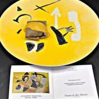 Piatti come opere d'arte, la chef pugliese si è fatta ispirare dal Guggenheim Museum di New York