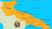 Dov'è l'Iran? In Puglia:    la mappa è da ridere