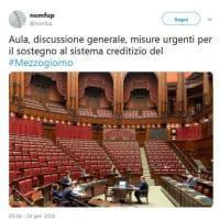 Popolare di Bari, aula della Camera deserta mentre si discute salvataggio