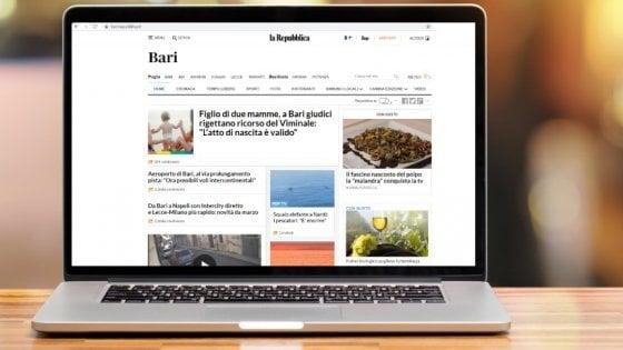 Gennaio record per il sito di Repubblica Bari, 5 milioni e 460 mila 'utenti unici'