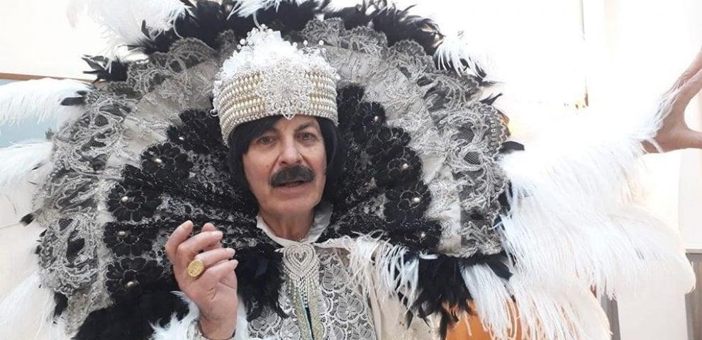 Carnevale, le maschere di Angelo che porta a Brindisi un po' di Venezia