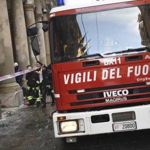 Cerignola, incendio distrugge negozio di bici: evacuato il palazzo a scopo precauzionale