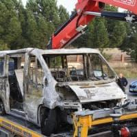 Scontro tifosi di Bari e Lecce in autostrada, 4 denunciati: avevano mazze, manganelli e...