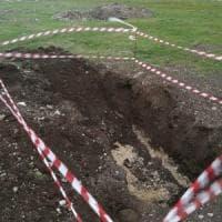 Foggia, bomba sganciata da aereo Usa trovata sulla pista dell'aeroporto di Foggia
