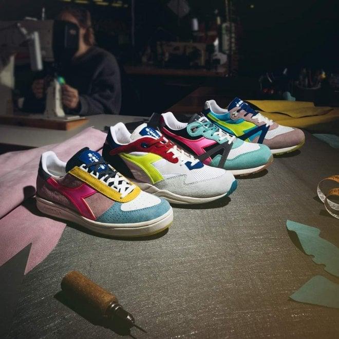 Diadora, le nuove scarpe sono ispirate alle luminarie