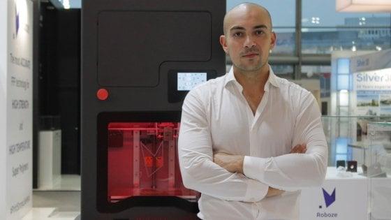 La stampante 3D da Bari conquista gli Usa: commessa dell'Us Army da 300 mila dollari per Roboze