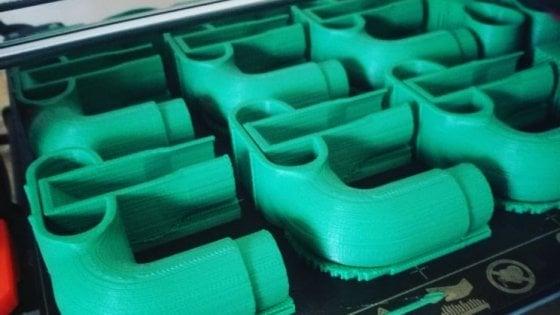 """Coronavirus, la Puglia stampa in 3D le valvole da sub per aiutare a respirare: """"L'idea da Brescia che unisce l'Italia"""""""