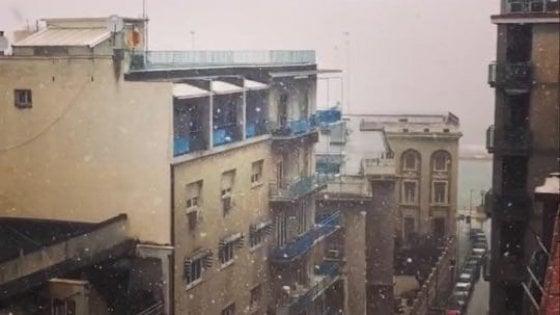 Meteo, neve in Puglia per l'inizio della primavera: maltempo fino al 26 ma temperature in rialzo