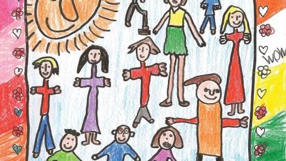 """Coronavirus, i volontari consegnano le letterine dei bambini agli anziani soli: """"Scrivete per loro"""""""