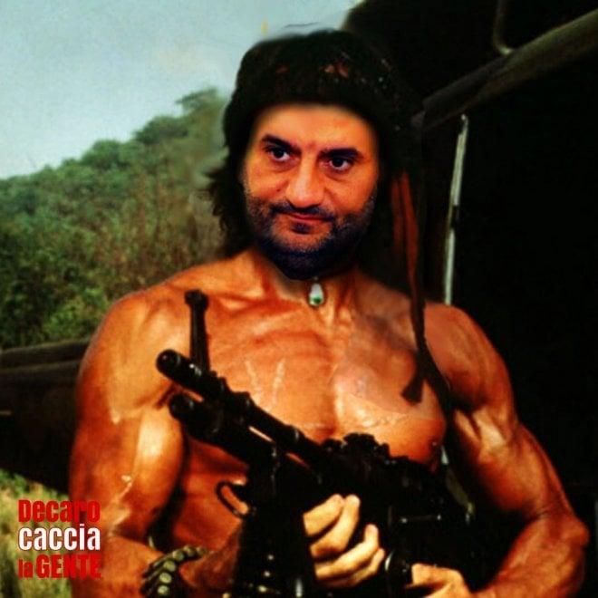 Coronavirus, Decaro come Rambo o Zalone: dilaga l'ironia social sul sindaco che 'caccia gente'