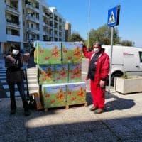 Coronavirus, a Bari uova di Pasqua e colombe solidali per chi non può comprarle: