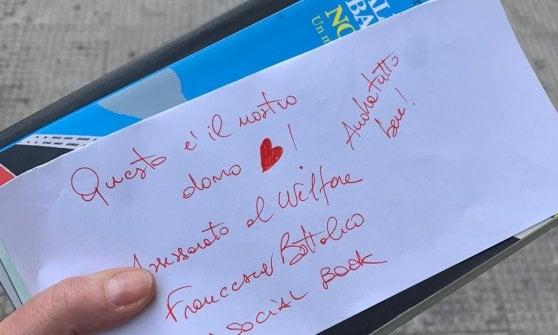 """Coronavirus, l'appello di un 55enne di Bari al Welfare: """"Resto a casa ma ho letto tutto, mi portate un libro?"""""""