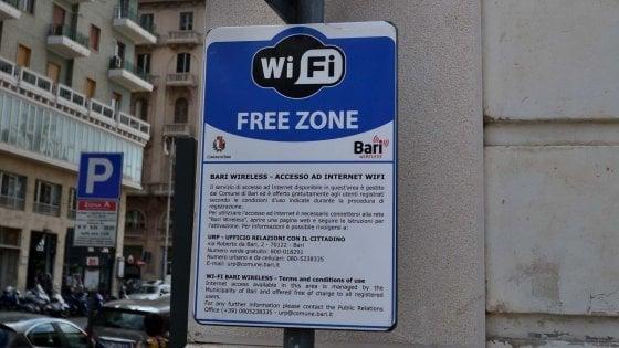 A Bari wi-fi gratis in tutta la città e illuminazione intelligente: approvato progetto da 19 milioni per 'smart city'