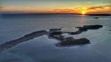 Porto Cesareo, sul mare un tramonto mozzafiato