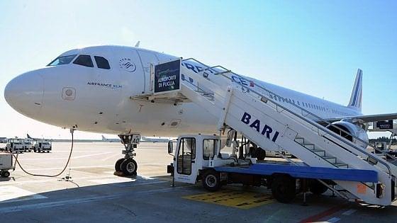 Bari Parigi, Air France dal 13 giugno riapre il collegamento
