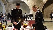 Bari, in divisa i primi sposi post Covid al Fortino