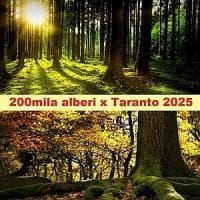 Duecentomila alberi per Taranto, la proposta di Legambiente: