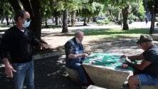 Riapre piazza Garibaldi la festa dei pensionati