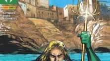 Supereroe a Polignano  la copertina di Aquaman