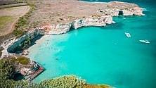 Calette e mare turchese    Otranto è incantevole