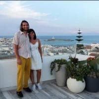 Maria e Roberto, i 'turisti-zero' di Vieste: