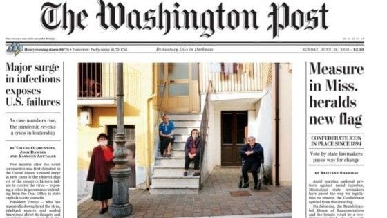 """Il borgo di San Fele in prima pagina sul Washington Post: """"Salvo dal Covid perché tutti conoscono tutti"""""""
