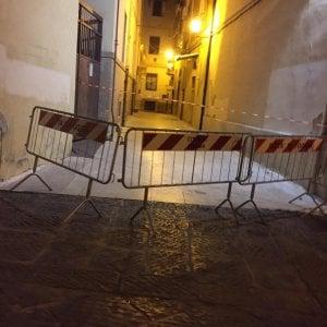 Foggia, crolla nella notte un solaio nel centro storico: nessun ferito, evacuate 13 famiglie