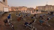 La rassegna sulle sdraio  nel parco archeologico