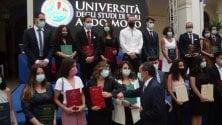 Università, le lauree nell'atrio dell'Ateneo