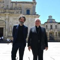 Sfilata di Dior a Lecce, al via gli allestimenti: piazza Duomo si prepara