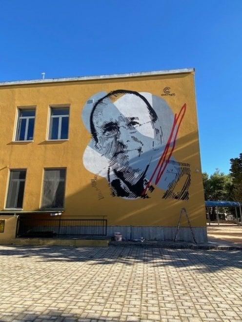 """In Salento un murale dedicato a Guglielmo Minervini: """"Un esempio per tutti"""""""
